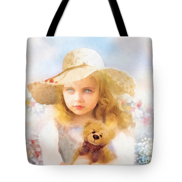 Tranquility Tote Bag by Mo T