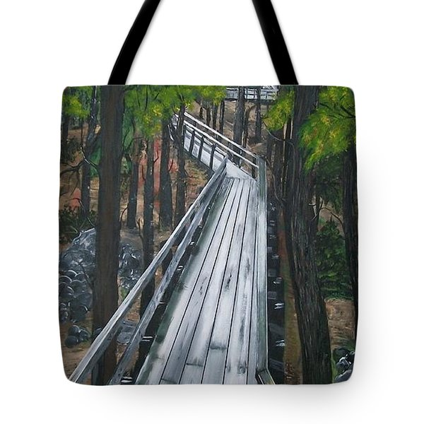 Tranquility Trail Tote Bag