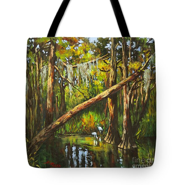 Tote Bag featuring the painting Tranquillity by Dianne Parks