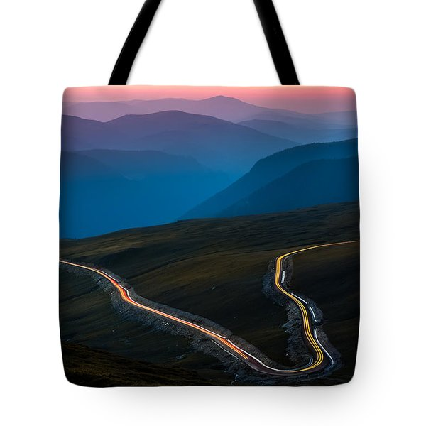 Tote Bag featuring the photograph Transalpina by Mihai Andritoiu
