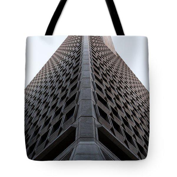 Transamerica Spine Tote Bag by John Daly