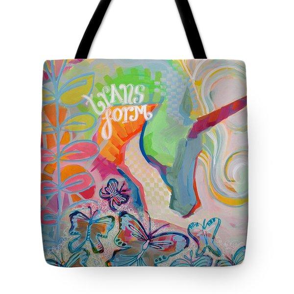Transform Tote Bag by Kimberly Santini