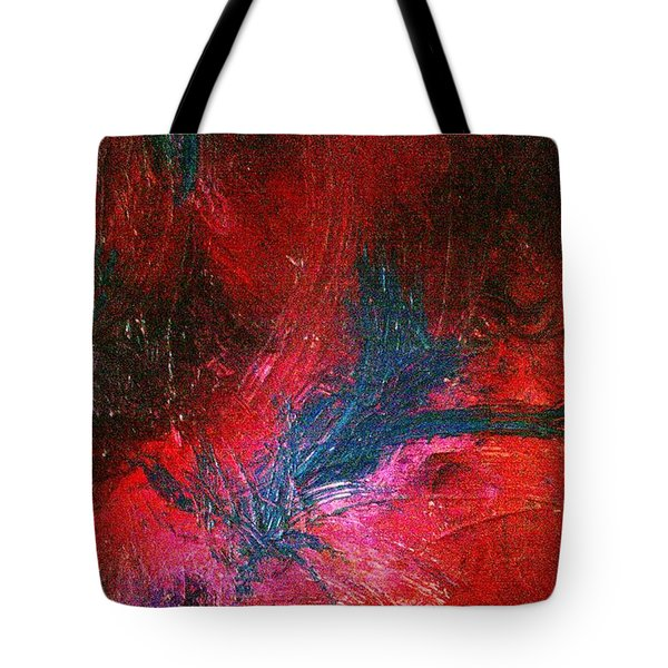 Tote Bag featuring the painting Transformation by Jacqueline McReynolds