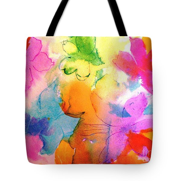 Transformed Into His Image Tote Bag