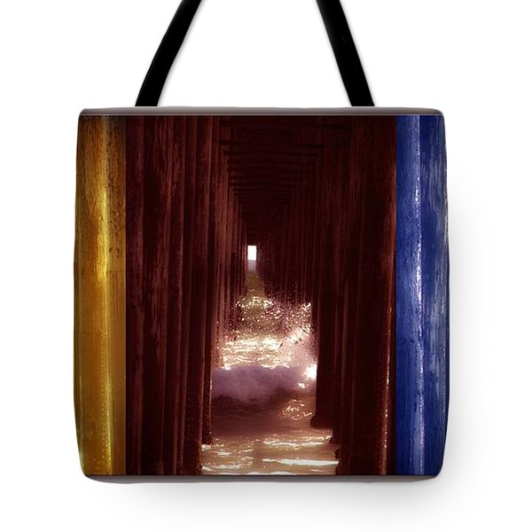 Transforming Waters  Orginal Piece Tote Bag