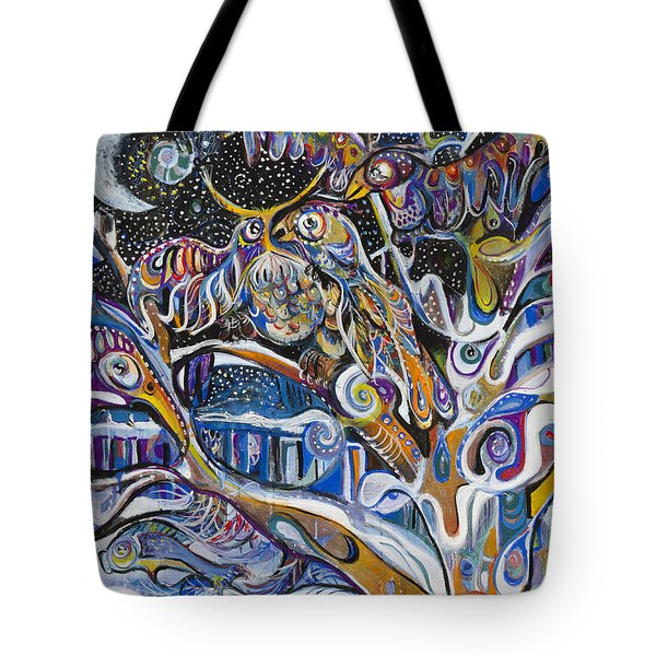 Transitions Tote Bag by Leela Payne