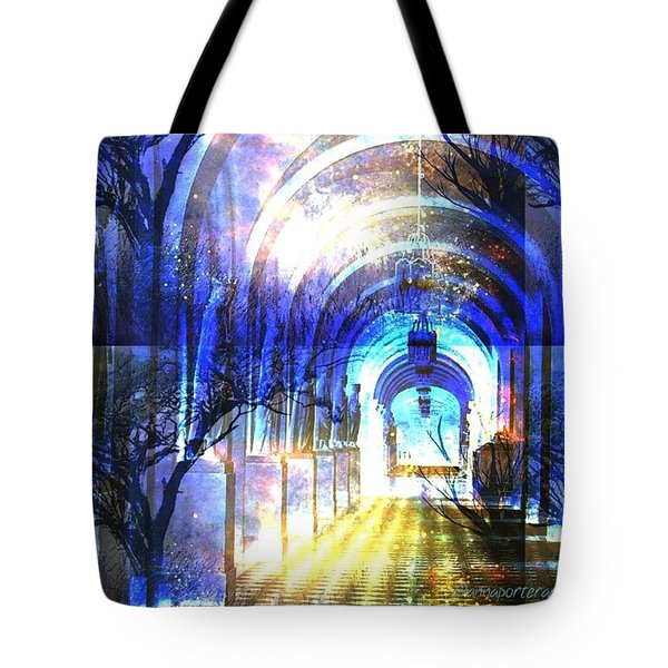 Transitions Through Time Tote Bag by Anna Porter