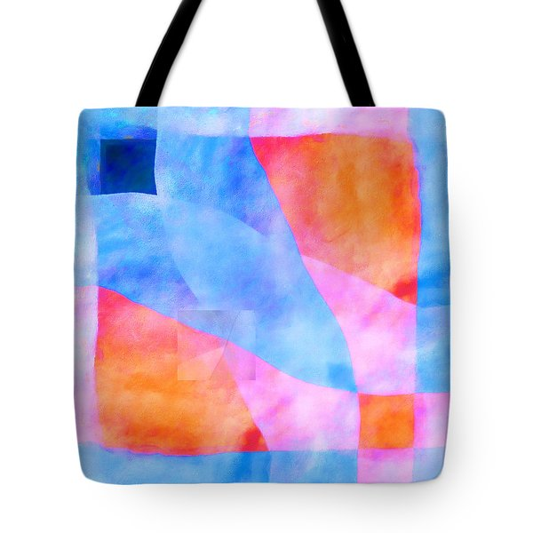 Translucence Number 3 Tote Bag by Carol Leigh