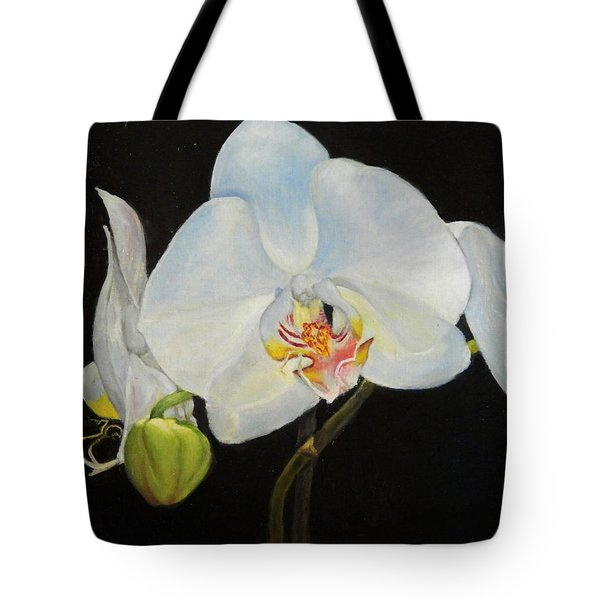 Translucent Orchids Tote Bag