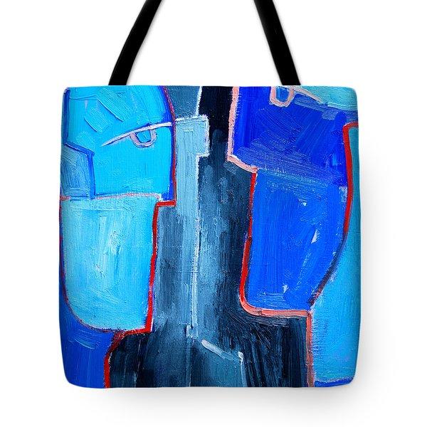 Translucent Togetherness Tote Bag by Ana Maria Edulescu