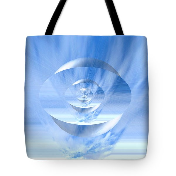 Transparency. Unique Art Collection Tote Bag by Oksana Semenchenko