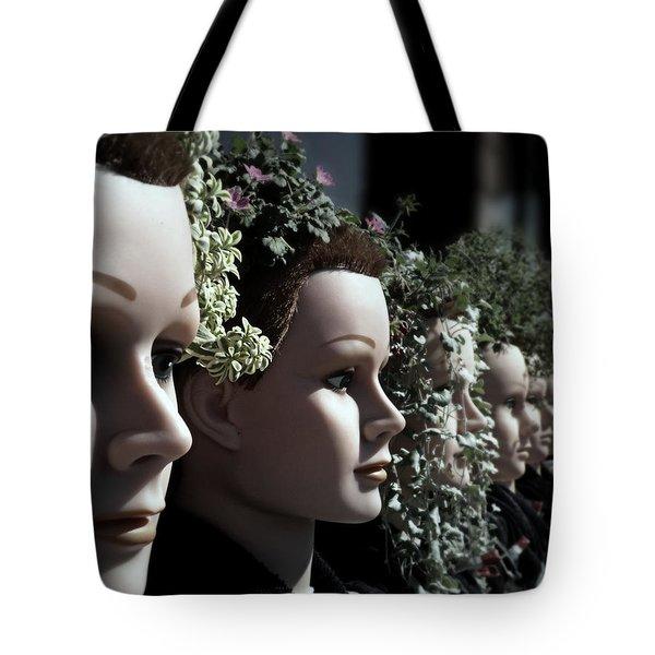 Transplants Tote Bag by Micki Findlay
