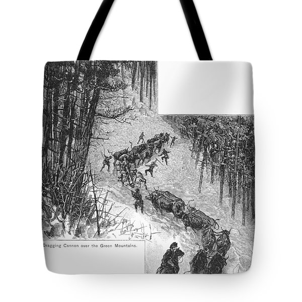Transport Of Cannon, 1776 Tote Bag by Granger
