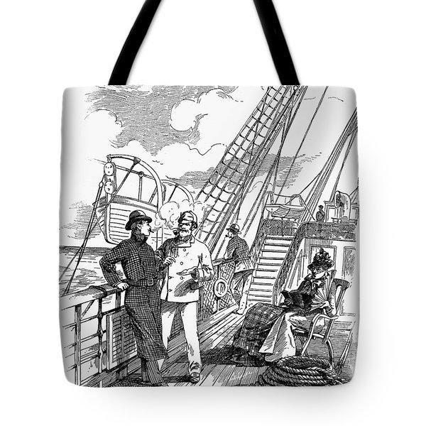 Transportation Ad, 1888 Tote Bag