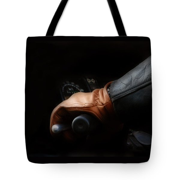 Leather Goes For A Ride Tote Bag
