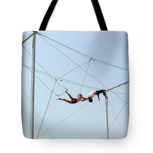 Trapeze School Tote Bag by Brian Wallace