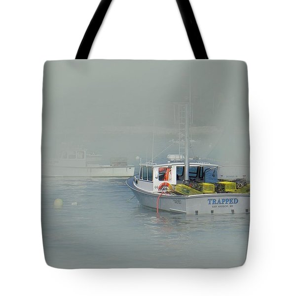 Trapped In The Fog Tote Bag