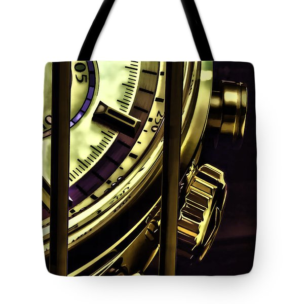 Tote Bag featuring the painting Trapped In Time by Muhie Kanawati