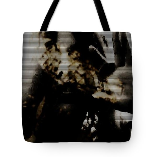 Tote Bag featuring the photograph Trapped Inside by Jessica Shelton