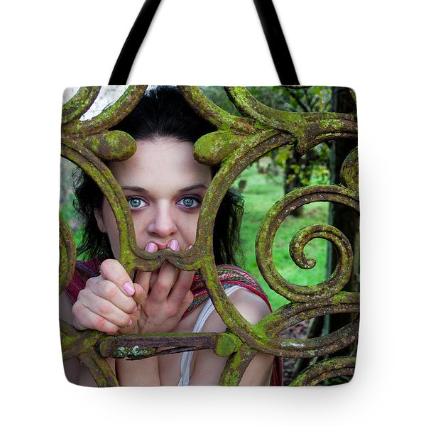 Trapped Tote Bag by Semmick Photo