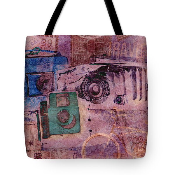 Travel Log Tote Bag