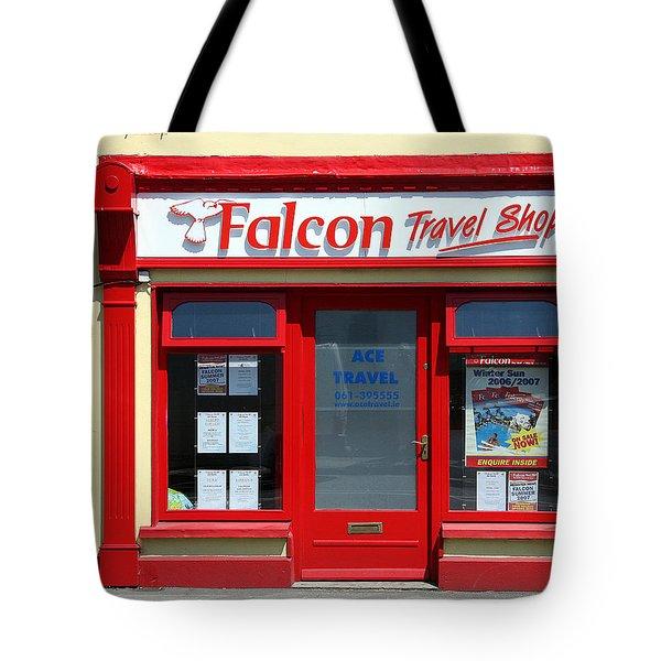 Travel Shop Tote Bag by John Bushnell