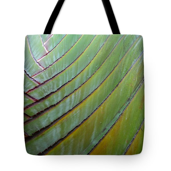 Traveler's Palm Design Tote Bag