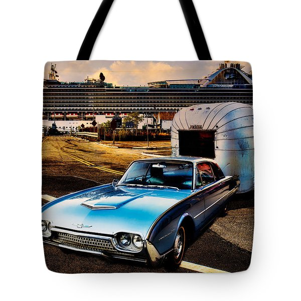 Travelin' In Style Tote Bag