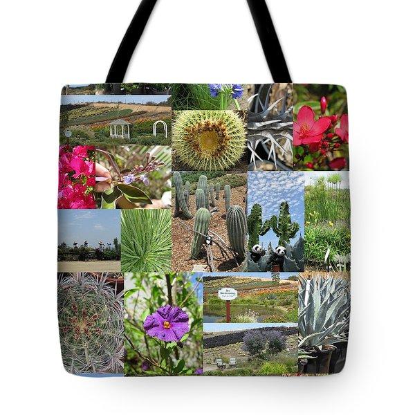 Tote Bag featuring the photograph Traveling Baby Pandas At The Plant Nursery. California. by Ausra Huntington nee Paulauskaite