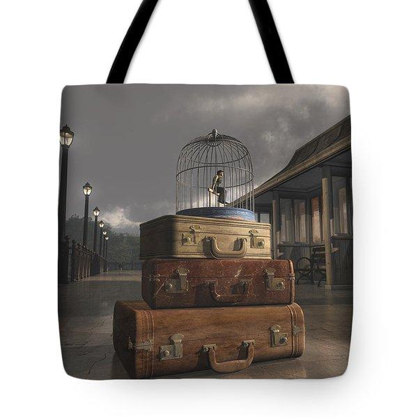 Traveling Tote Bag by Cynthia Decker