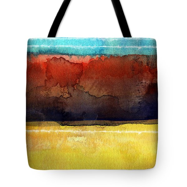 Traveling North Tote Bag by Linda Woods