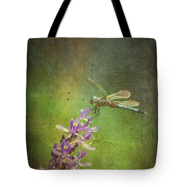 Treading Lightly Tote Bag by Patricia Griffin Brett