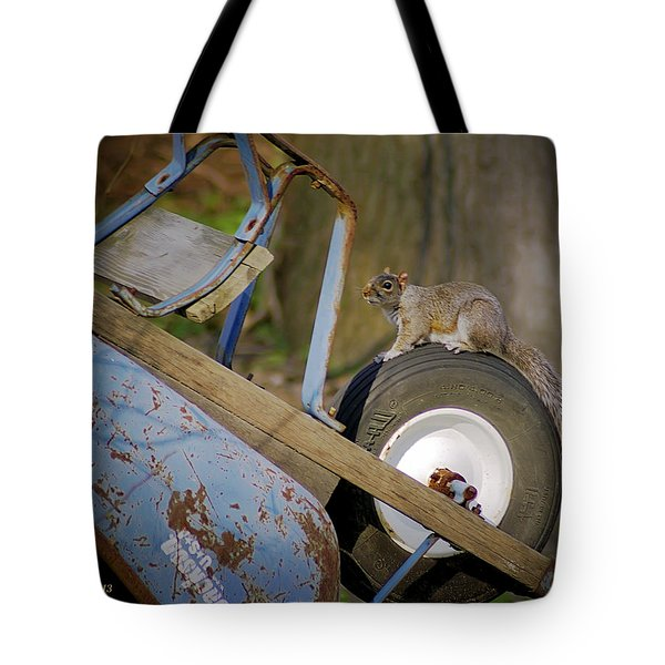 Treadmill Tote Bag by Brian Wallace