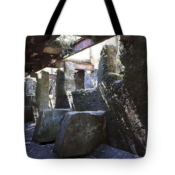 Treadwell Mine Interior Tote Bag