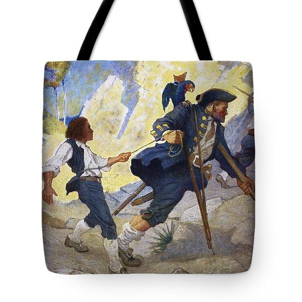 Treasure Island, 1911 Tote Bag by Granger