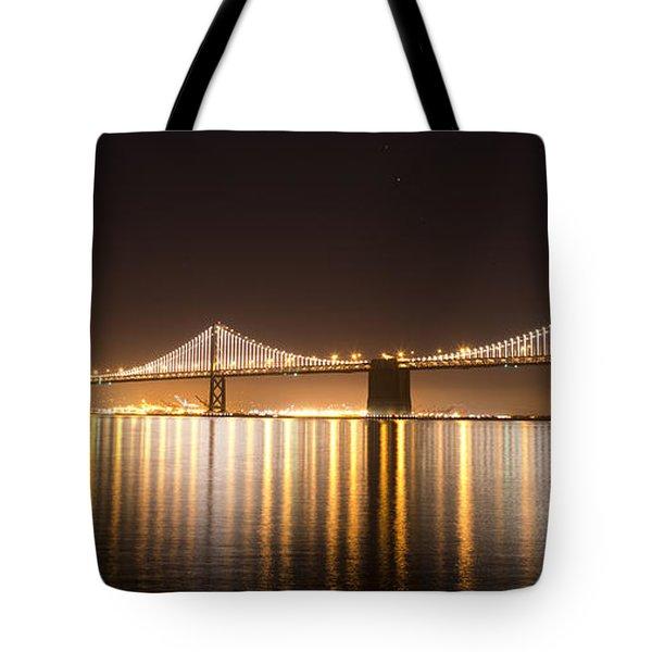 Treasure Island Bay Lights Tote Bag