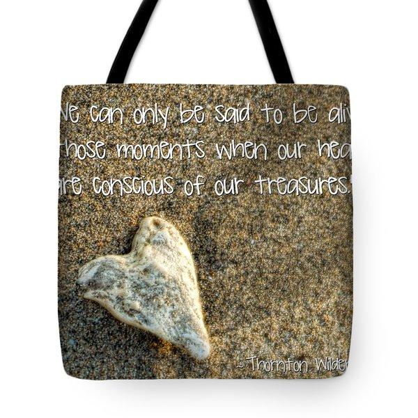 Treasured Heart Tote Bag