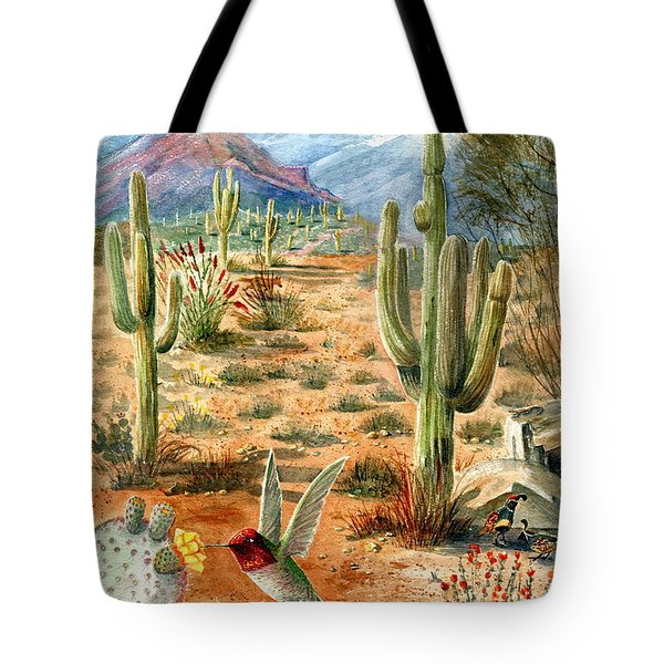 Treasures Of The Desert Tote Bag