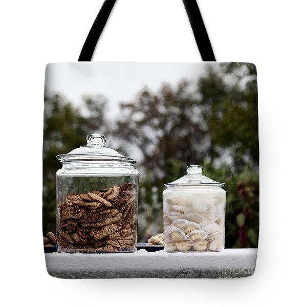 Treats Tote Bag by Margie Hurwich