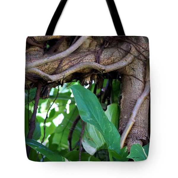 Tote Bag featuring the photograph Tree Branch by Rafael Salazar
