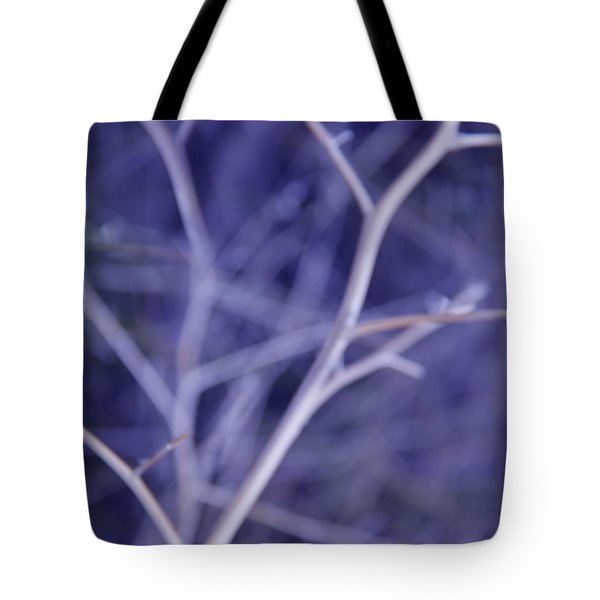 Tree Branches Abstract Lavender Tote Bag by Jennie Marie Schell