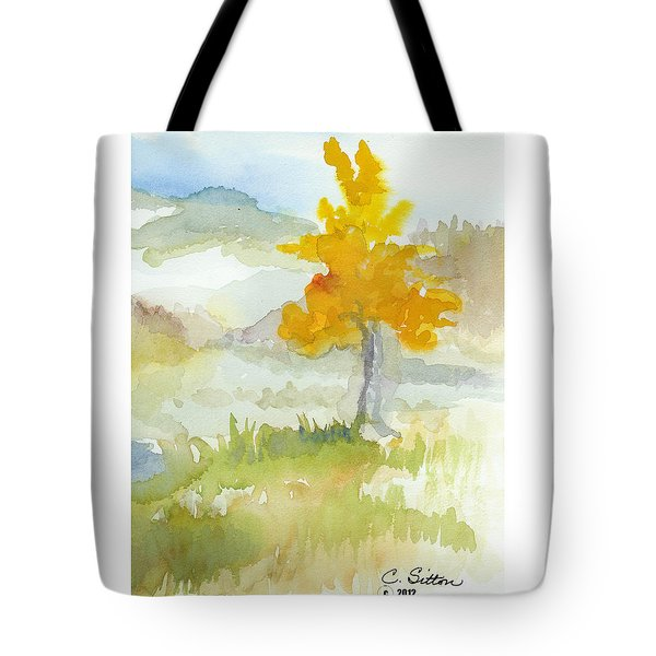Tree Tote Bag by C Sitton