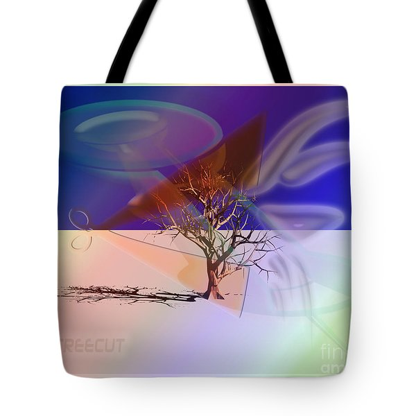 Tree Cut Tote Bag