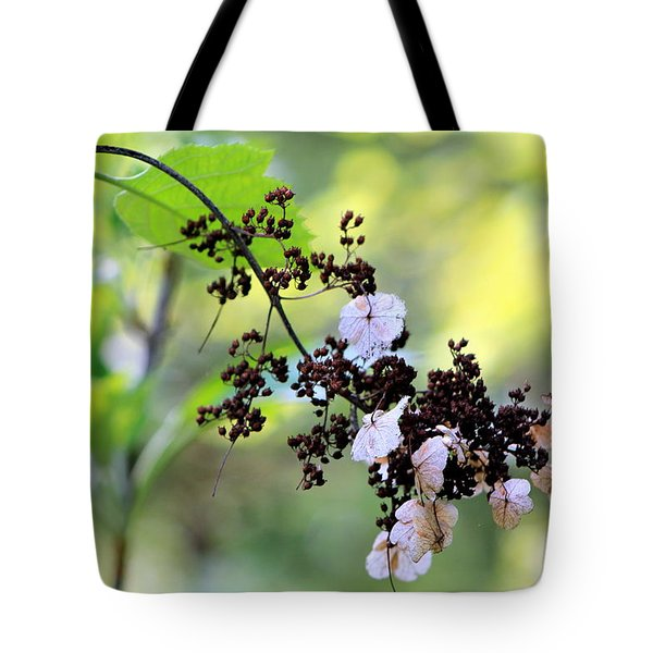 Tree Filigree Tote Bag