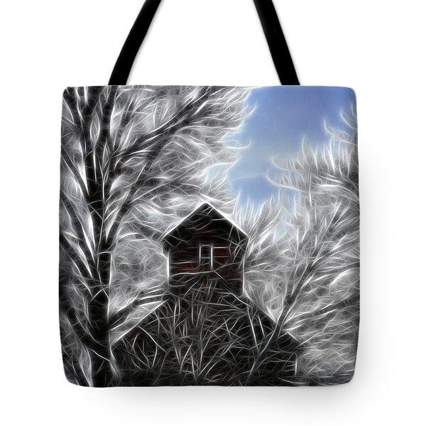 Tree House Tote Bag by Steve McKinzie
