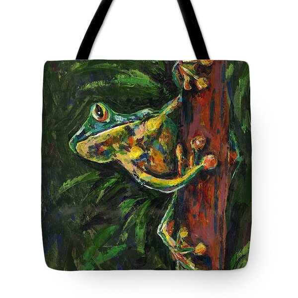 Tree Hugger Tote Bag by Lovejoy Creations