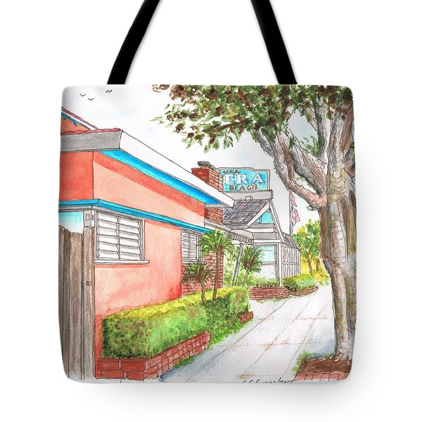 Tree In Laguna Riviera Hotel In Laguna Beach - California Tote Bag