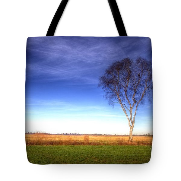 Tree In The Murnauer Moos Tote Bag