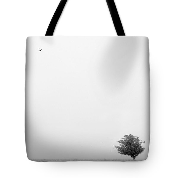 Tree In The Wind Tote Bag by Mike McGlothlen