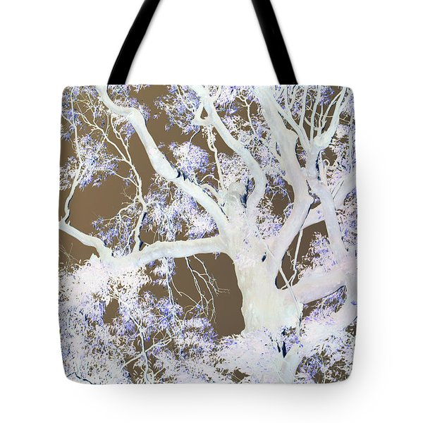 Tote Bag featuring the photograph Tree Inversion by Cassandra Buckley